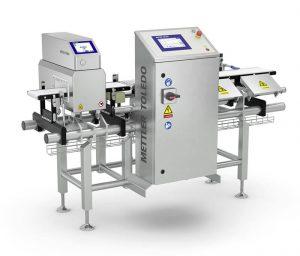 Kombinovani sistem - kontrolna vaga i detektor metala